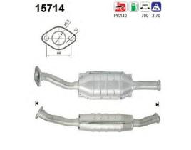 AS 15714 - Catalizador/DPF CITROEN XSARA 1.9 TD