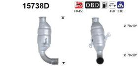 AS 15738D - Catalizador/DPF CITROEN XSARA 1.9D