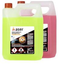 Aser 500688 - Anticongelante orgánico g12 al 50% color amarillo