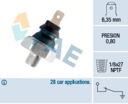 FAE 11290 - Interruptor de control de la presión de aceite
