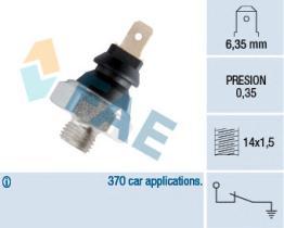 FAE 11410 - Interruptor de control de la presión de aceite