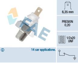 FAE 11700 - Interruptor de control de la presión de aceite