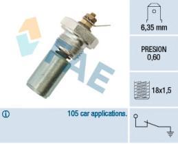FAE 12260 - Interruptor de control de la presión de aceite