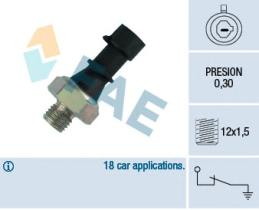 FAE 12440 - Interruptor de control de la presión de aceite
