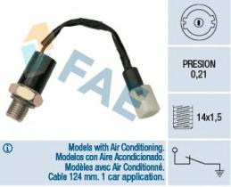FAE 12510 - Interruptor de control de la presión de aceite