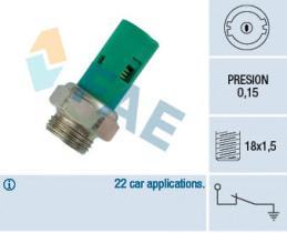 FAE 12520 - Interruptor de control de la presión de aceite