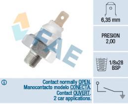 FAE 12940 - Interruptor de control de la presión de aceite