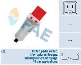 FAE 24884 - Interruptor luces freno