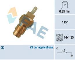 FAE 35200 - Interruptor de temperatura