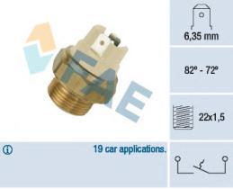 FAE 37080 - Interruptor de temperatura
