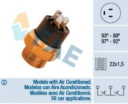 FAE 37850 - Interruptor de temperatura