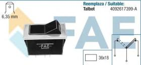 FAE 62170 - Interruptor