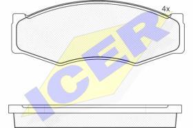 Icer 140526 - PASTILLA FRENO ICER