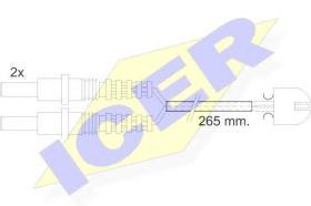 Icer 610169EC - Avisador de freno
