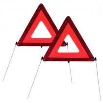 Nertor 53040008755 - Juego de 2 triangulos de señalización