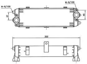 NRF 31061 - ENFRIADOR PORSCHE 928S 86-