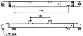 NRF 31064 - ENFRIADOR PORSCHE 911 89-