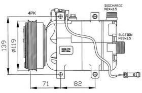 NRF 32032 - COMPRESOR AUDI A4 94-