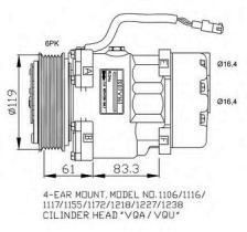 NRF 32040G - COMPRESOR CITROEN BERLINGO 96-