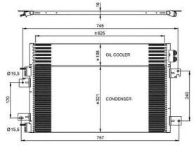 NRF 350031 - CONDENSADOR RENAULT MASTER 97-05
