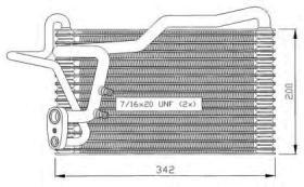 NRF 36035 - EVAPORADOR MERCEDES C180 (W202) 93-