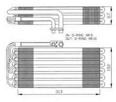 NRF 36064 - EVAPORADOR MERCEDES A140 (W168) 97-