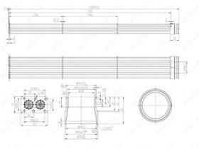 NRF 48102 - ENFRIADOR EGR MAN TGA/TGL/TGM/M2000