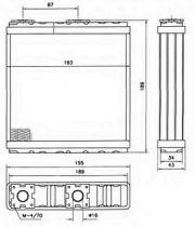 NRF 52098 - CALEFACTOR CITROEN JUMPER 27 94-