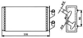 NRF 53213 - CALEFACTOR FORD FOCUS LHD 98-