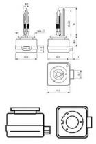 Philips 85409VIC1 - Lámpara philips xénon d1r