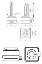 Philips 85415VIC1 - Lámpara philips xénon d1s