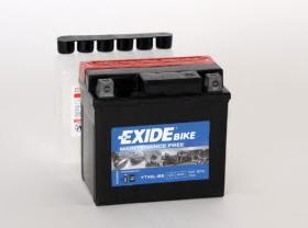 Tudor ETX5LBS - Bateria moto agm 4 ah