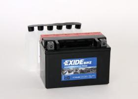 Tudor ETX9BS - Bateria moto agm 8 ah