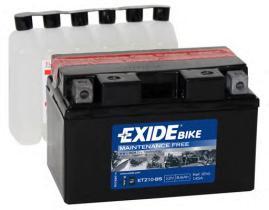 Tudor ETZ10BS - Bateria moto agm 8 , 6 ah