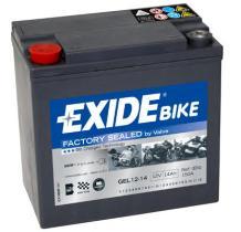 Tudor GEL1214 - Bateria moto agm ready 14 ah