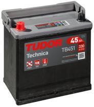 Tudor TB451 - BATERIA TUDOR 45AH 330 EN