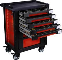 Jbm 52825 - Armario de herramientas rojo - armado eva