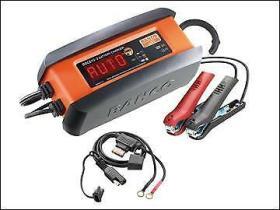 Bahco BBCE123 - Cargador electrónico automático 12V 10A