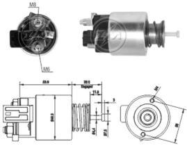 Era ZM1261 - Interruptor magnético, estárter