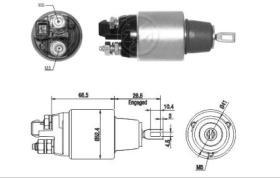 Era ZM1382 - Interruptor magnético, estárter