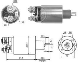 Era ZM1484 - Interruptor magnético, estárter