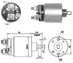 Era ZM1710 - Interruptor magnético, estárter