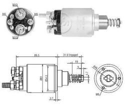 Era ZM1732 - Interruptor magnético, estárter