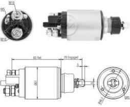 Era ZM1825 - Interruptor magnético, estárter