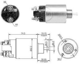 Era ZM1866 - Interruptor magnético, estárter