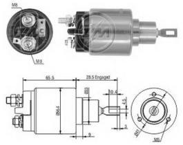 Era ZM1873 - Interruptor magnético, estárter