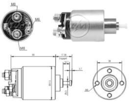 Era ZM1961 - Interruptor magnético, estárter