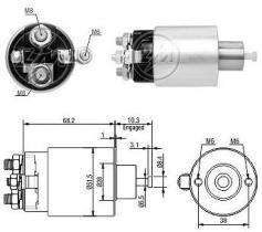 Era ZM1995 - Interruptor magnético, estárter