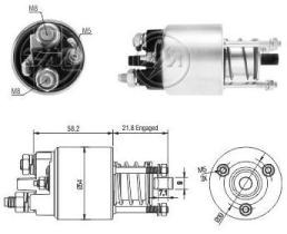 Era ZM2397 - Interruptor magnético, estárter