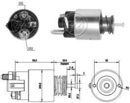 Era ZM261 - Interruptor magnético, estárter